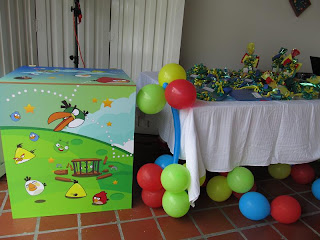 DECORACION ANGRY BIRDS MEDELLIN
