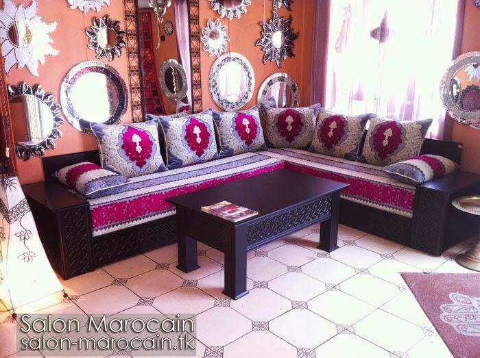 Luxueux Salon marocain moderne