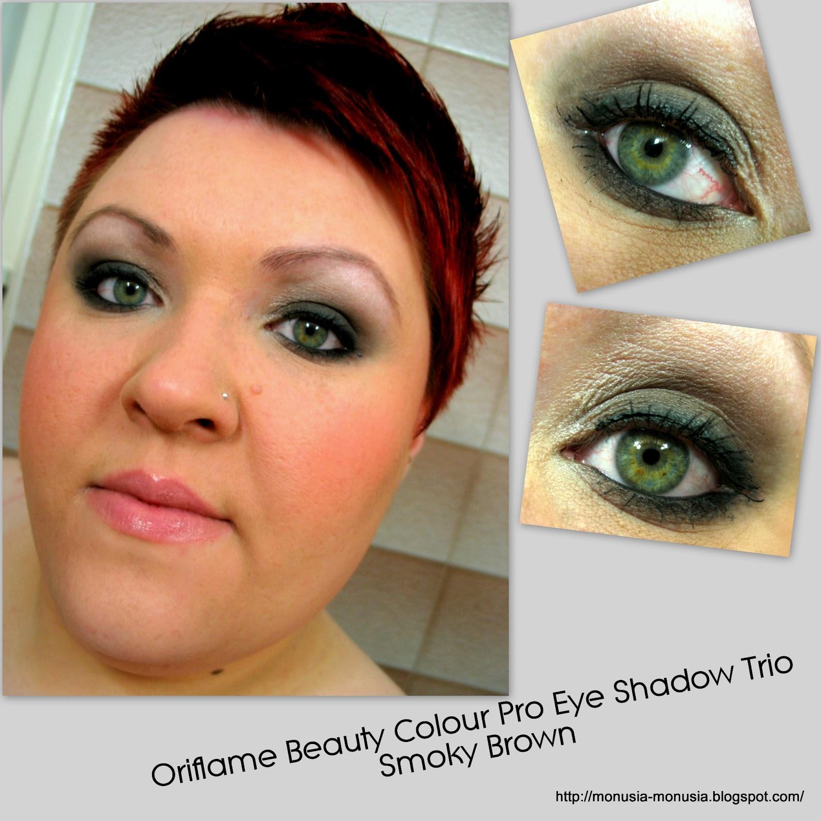 Paletkę tą nazwałabym ideałem dla podr³Å¼ujących w niewielkich rozmiarach mieszczą się wszystkie cienie do kompletnego makijażu oczu i brwi