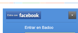inicio sesion badoo con facebook