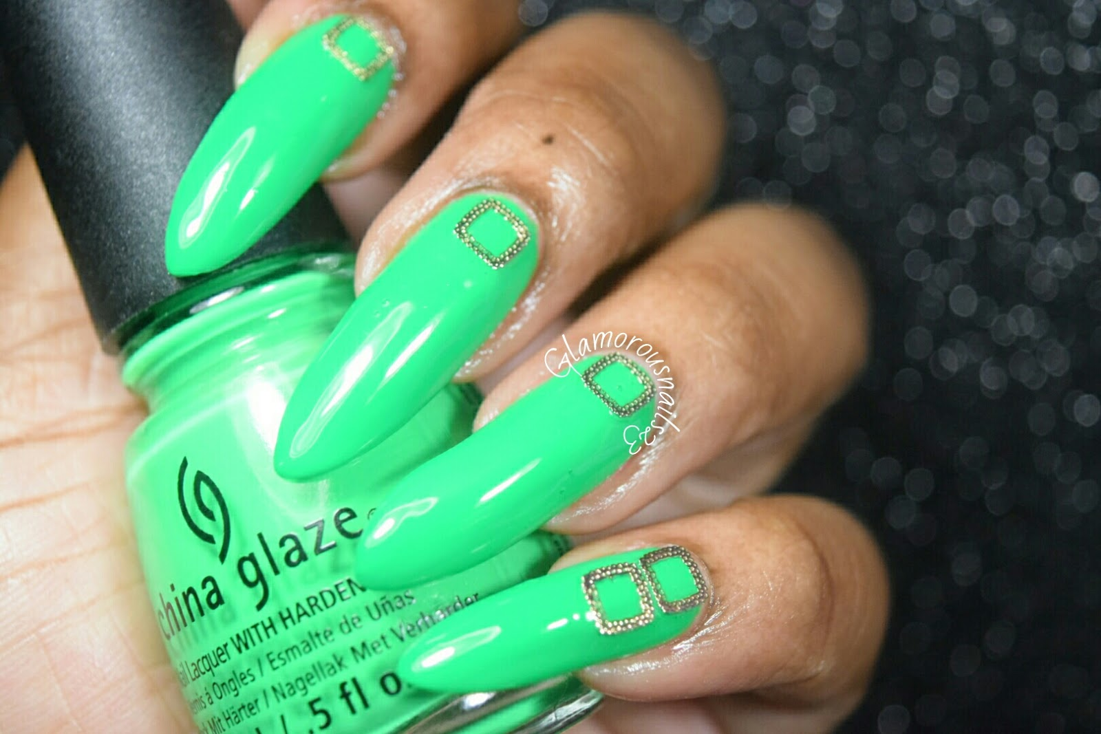 Born Pretty Store Square Nail Decorations - Glamorousnails23