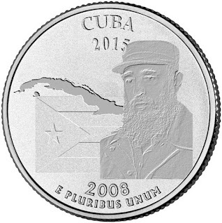 The new Cuban 'State' quarter