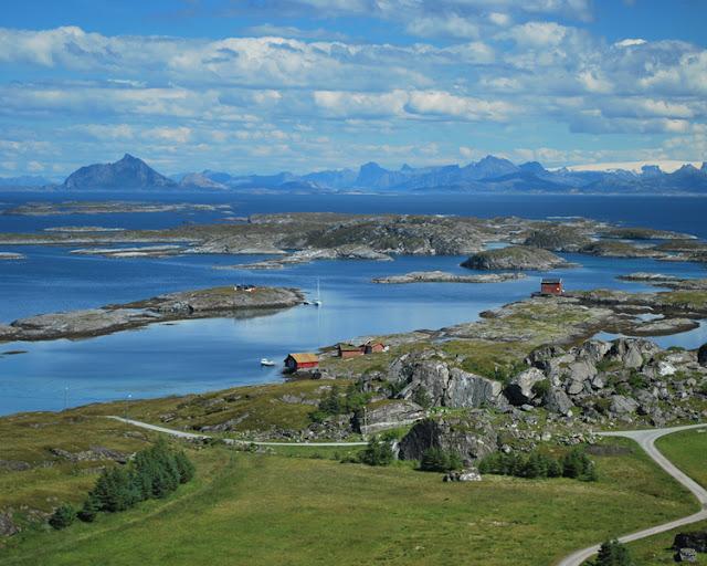 The island of Lovund