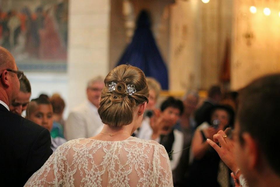 Photo coiffure mariage par EZS et LA Hairstyle Inspiration