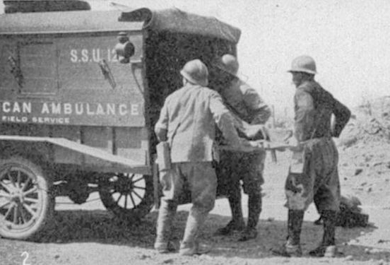 WW 1 Ambulance