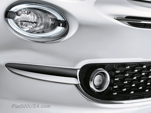 Redesigned Fiat 500 LED Driving Light