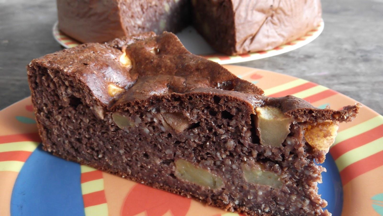 Holistic Health Schoko Apfel Kuchen