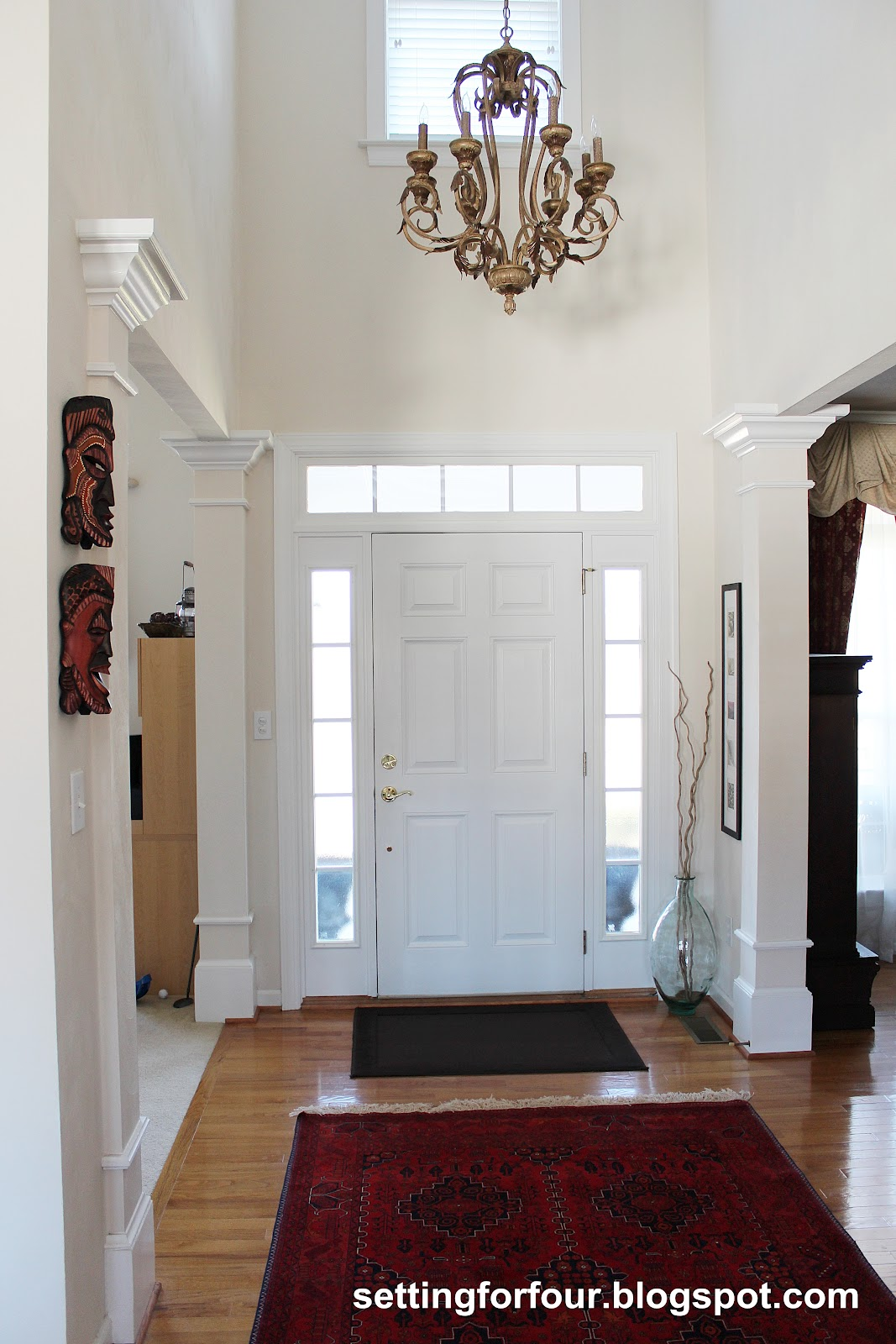 My Space: The Foyer - Setting for Four