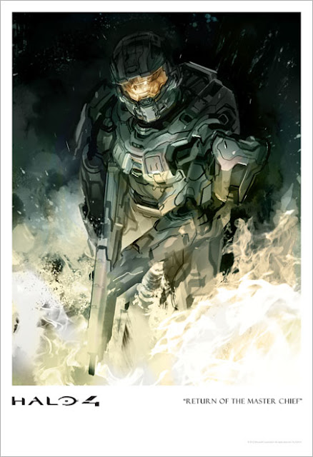 Halo 4 concept art by Gabriel Garza aka Robogabo