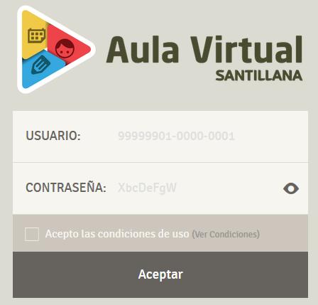 Aula virtual Santillana