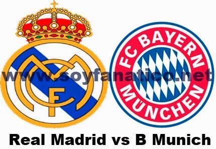 Real Madrid vs Bayern Munich Semifinal Vuelta 2014