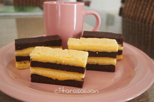 Resipi Kek Lapis Kukus Coklat Keju