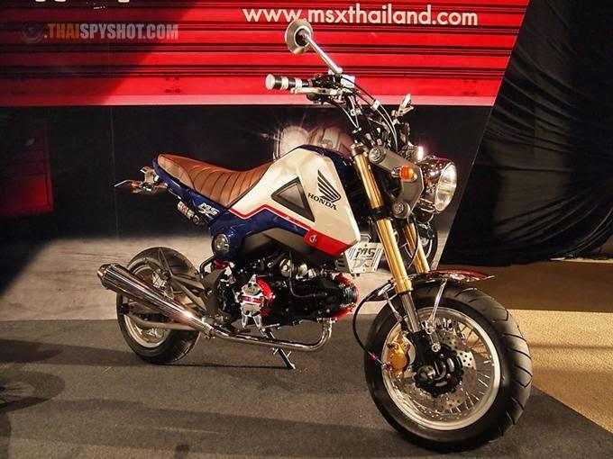 Honda MSX125 Sport Naked