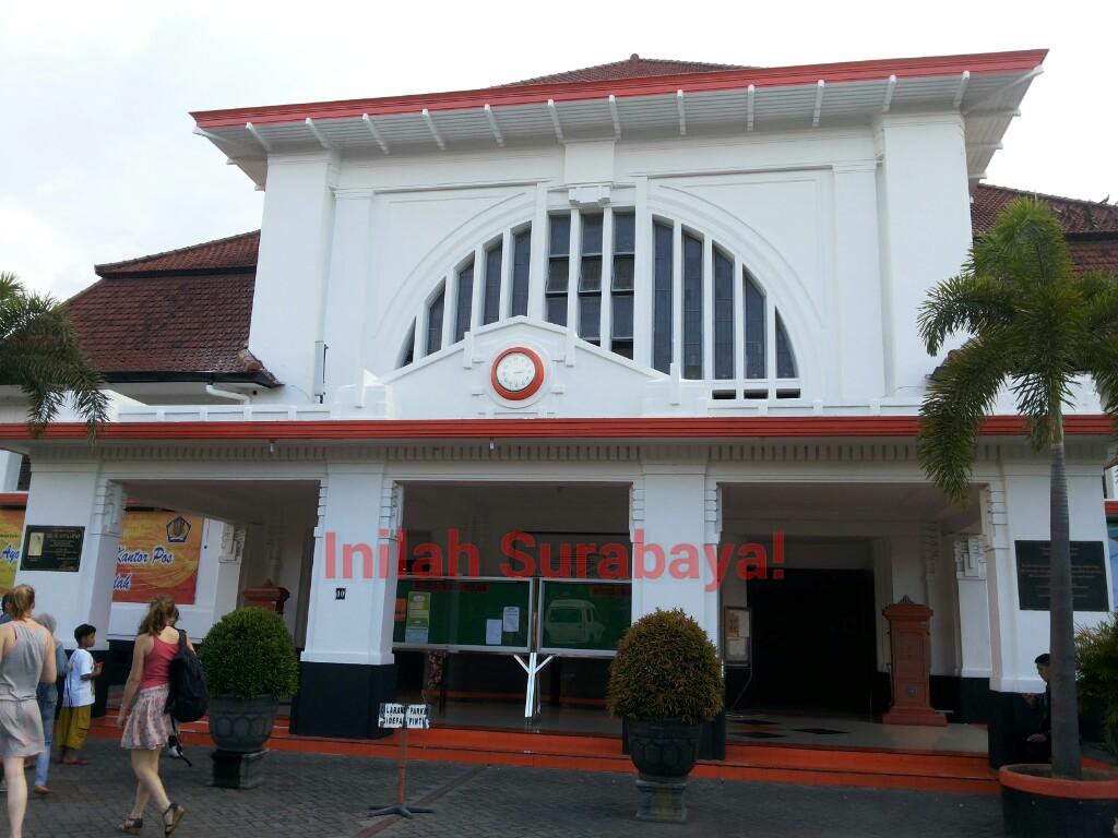 Inilah Surabaya Kantor Pos Besar Surabaya