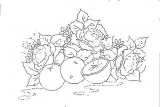 rosas e laranjas