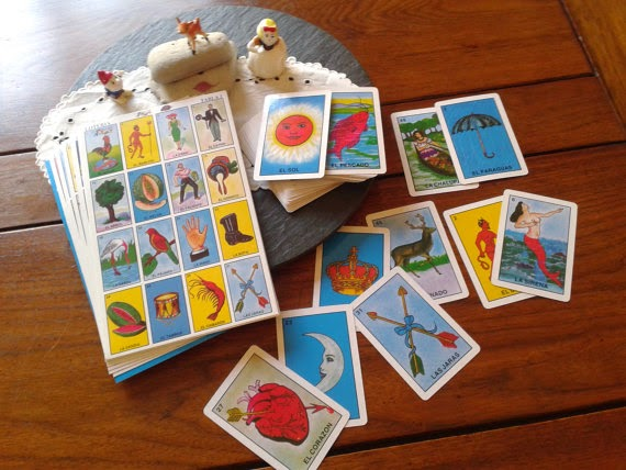 The HoarderRehab Blog The Destiny Of Things Loteria Mexican Bingo Game Wedding Crafts The