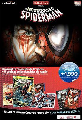 Promoción de Lanzamiento - El Asombroso Spiderman