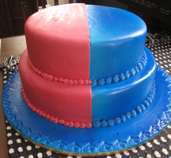 Googi Designs Customized Girlboy Birthday Cake
