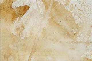 lienzo pintado con orina . cuadro