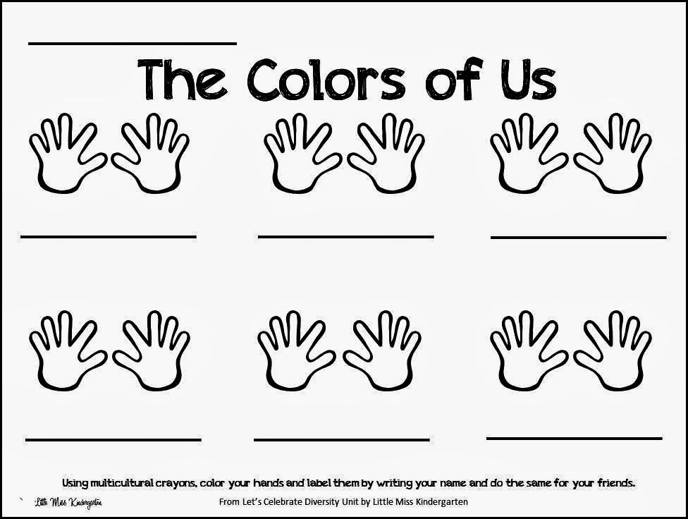 http://www.teacherspayteachers.com/Product/The-Colors-Of-Us-541331