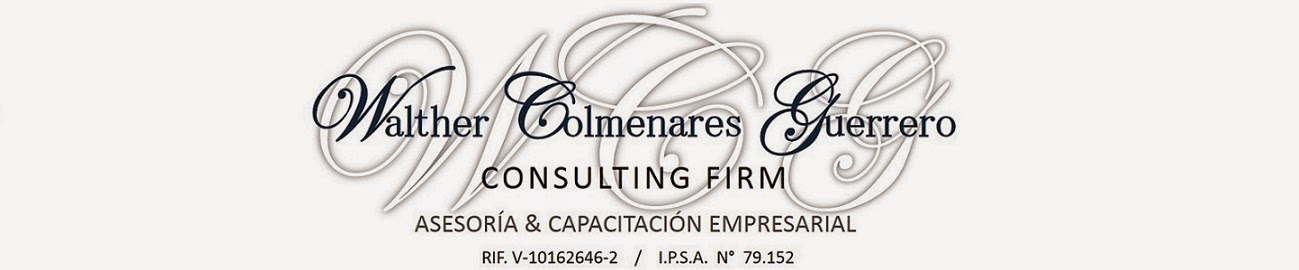 Walther Colmenares Guerrero. Consulting firm