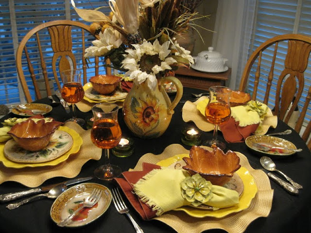 Tablescapes By Diane Small Touch Of Fall