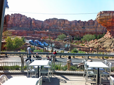 Flo's V8 Cafe View Radiator Springs Racers Cars Land Carsland
