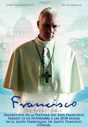 Sábado 12 de Noviembre: Proyección de la película del Papa Francisco. Pincha en la foto