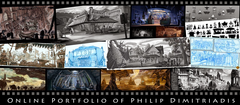 Philip Dimitriadis                      Online Portfolio
