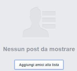 rifiutare amico facebook