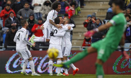 Getafe vs. Real Madrid (Spain La Liga)