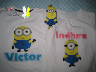 camiseta-customizada-decorada-personalizada-fieltro-Minion-Kevin-Stuart-Bob-elbosquedelulu-hechoamanoparati-regalo-personalizado-Victor-Indhira-felt