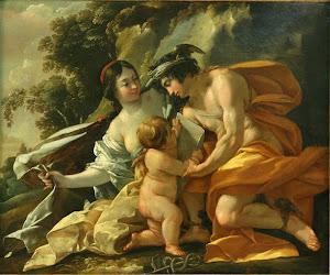 Venus, Mercurio y Cupido