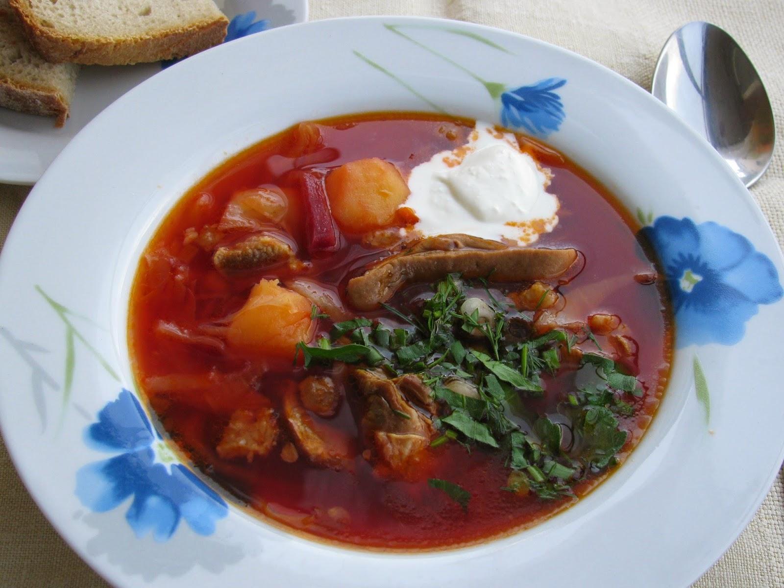Comida típica Rusia