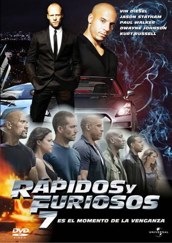 Rapidos y Furiosos 7 (2015) Dvdrip Latino [Acción]
