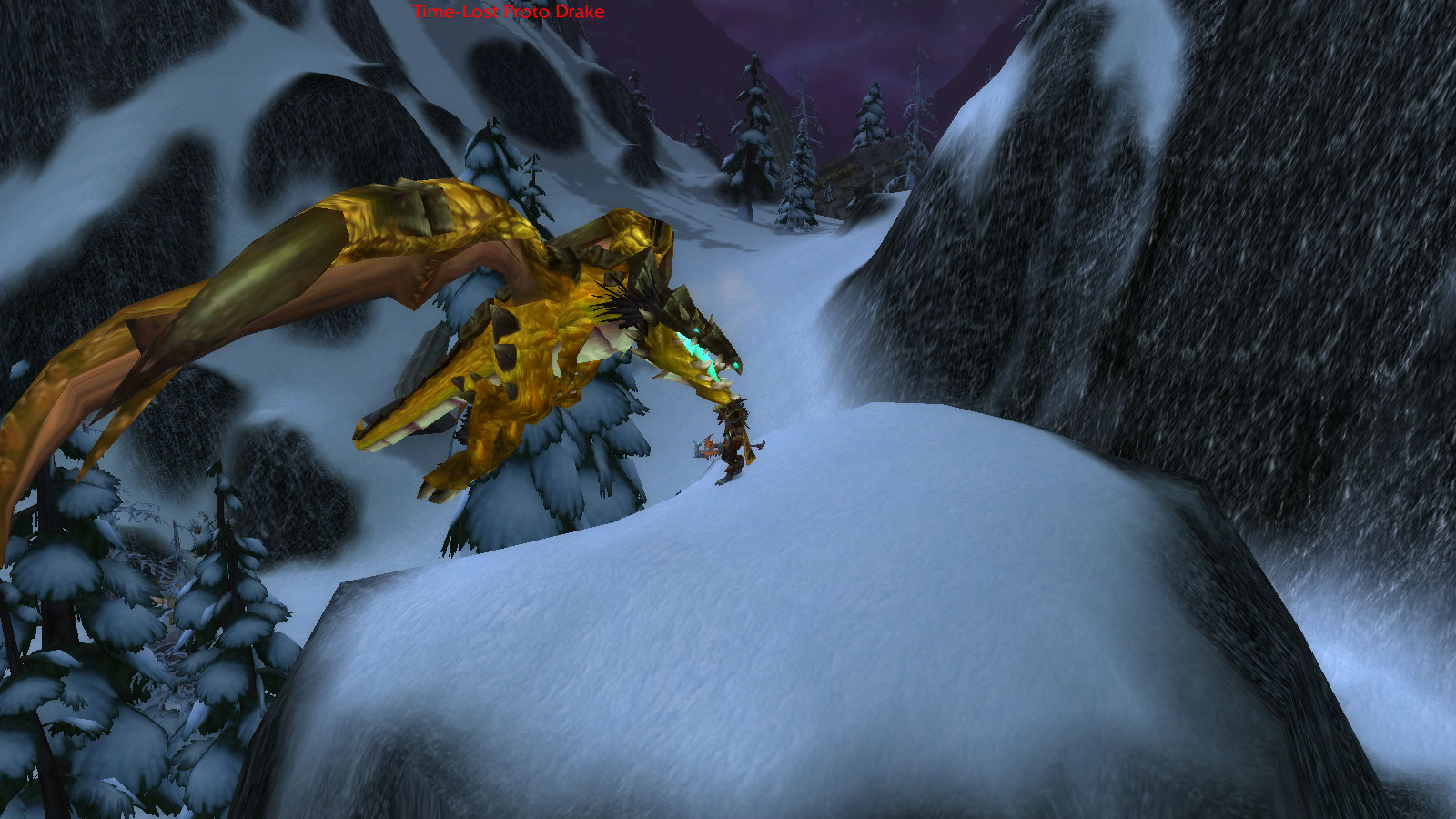 WoW Rare Spawns: Time-Lost Proto-Drake - Reins of the Time-Lost