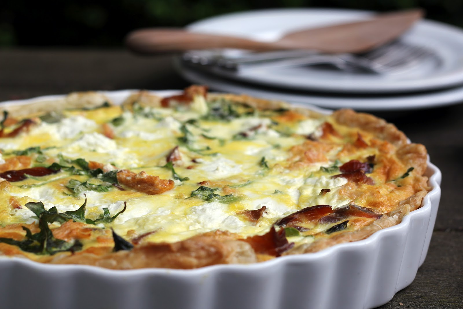 quiche recipe using puff pastry