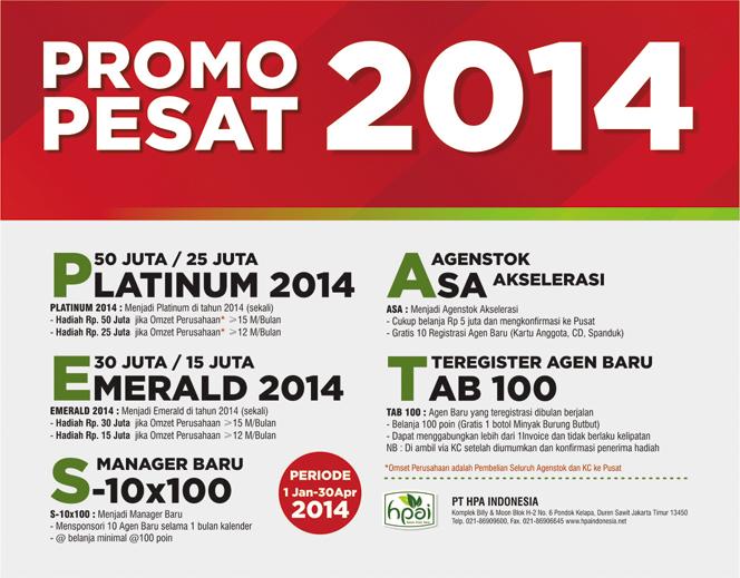 PROMO PESAT 2014