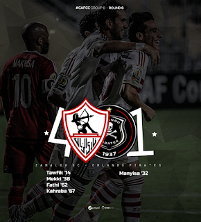 أهداف اللقاء - الزمالك 4 - 1 أورلاندو | الكونفيدرالية | 13-9-2015