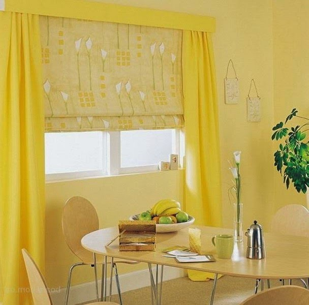 25 Ideas For Kitchen Window Curtains And Blinds Color