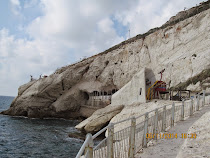 Rosh Hanikra Grotto, Cliffs and Cable Car, Northern Galilee, Israel