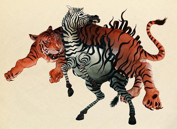 ilustrações bizarras michael marsicano