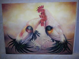 Gambar ayam sabung