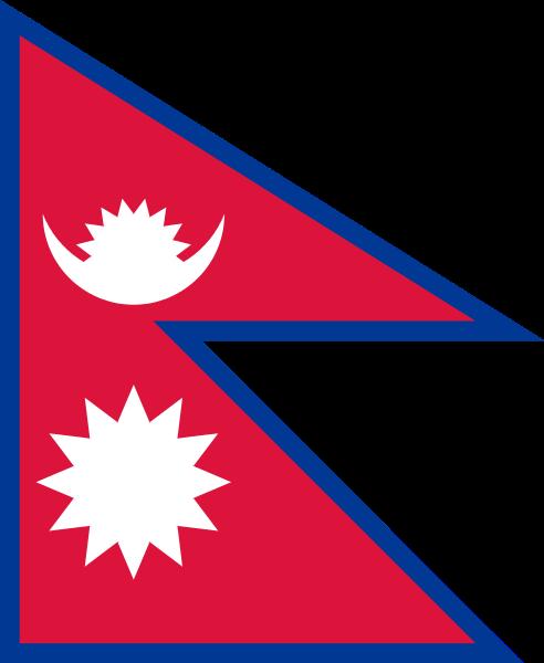bandera de Nepal para imprimir