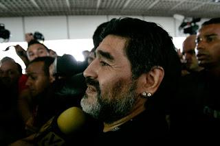 Diego Maradona nuevo Director Técnico