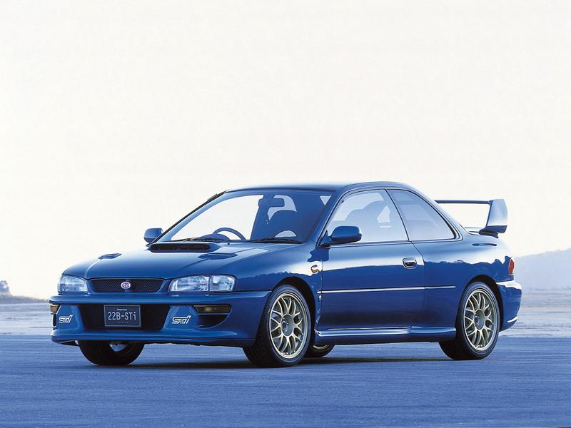 Subaru Impreza I, 1st, 1-gen, zdjęcia, japoński sportowy samochód, kultowy, 日本車, スポーツカー, スバル, edition version 22B STi