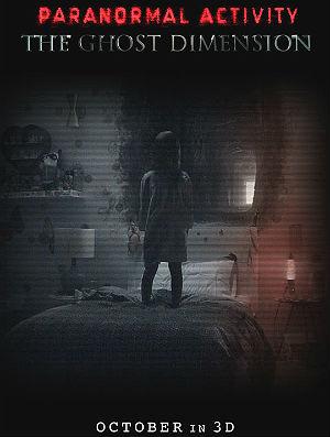 Filme Poster Atividade Paranormal - Dimensão Fantasma HDTS XviD & RMVB Legendado