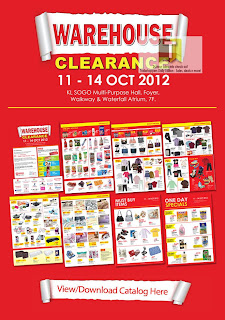 KL SOGO Warehouse Clearance Sale 2012