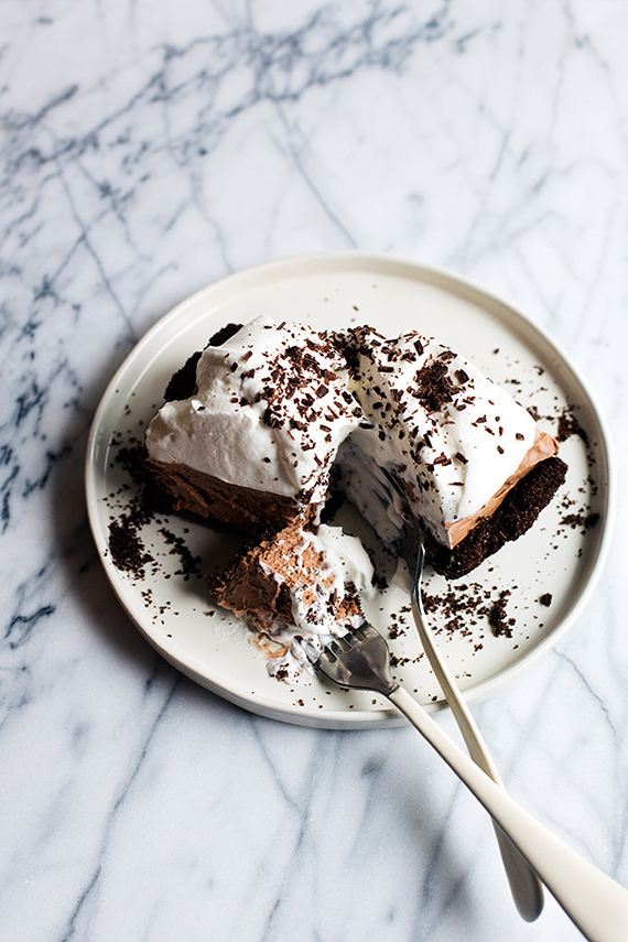 Chocolate mudslide pie recipe by Hungry Girl Por Vida