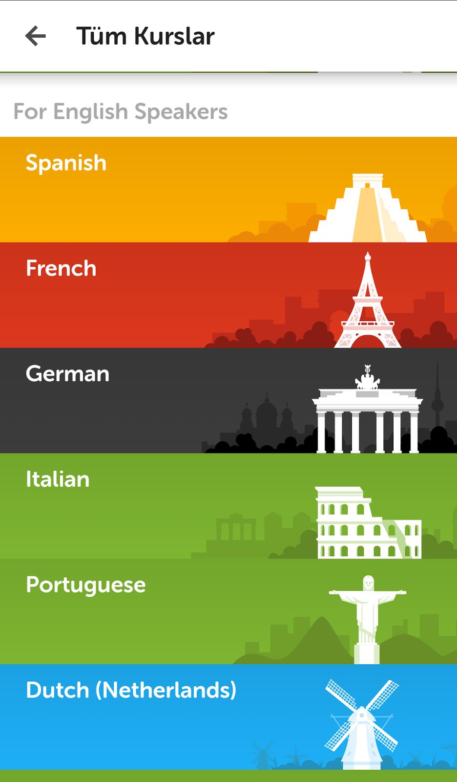 Duolingo-Dil Eğtimi